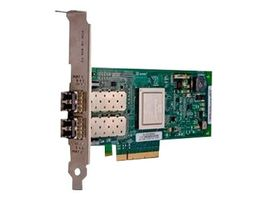 QLogic 2562 - Värdbussadapter - PCIe låg - 8Gb Fibre Channel x 2 - för PowerEdge R320, R420, R430, R520, R530, R620, R720, R720xd, R730, R820, PowerVault DL4000