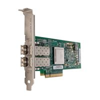 QLogic 2562 - Värdbussadapter - PCIe - 8Gb Fibre Channel x 2 - för PowerEdge R220, R320, R420, R430, R520, R530, R630, R730, R820, R920, T420, T430, T630