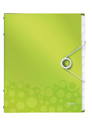 Divider book WOW PP 12 tabs green