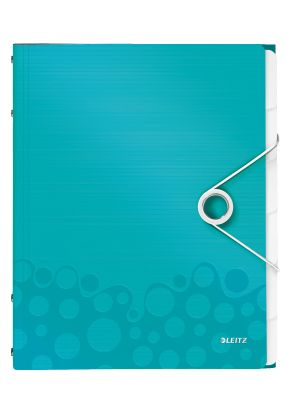 Divider book WOW PP 6 tabs iceblue