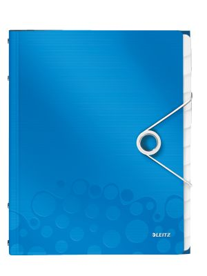 Divider book WOW PP 12 tabs blue