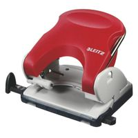 LEITZ Hole punch 5005 2h/25 sheets red (50050025)