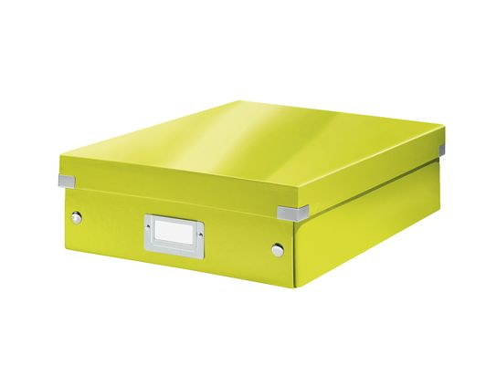 Organizer Box Click&Store Med. WOW green