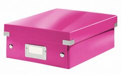 LEITZ Organizer Box Click&Store Small WOW pink