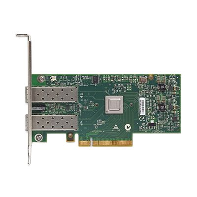 Mellanox ConnectX 3 - Nätverksadapter - 10Gb Ethernet x 2 - för PowerEdge R620, R630, R720, R730, R730xd, R820, R920, T430, T620, T630