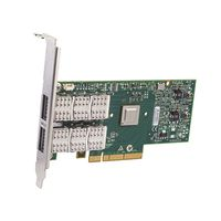 DELL Mellanox ConnectX 3 - Nätverksadapter låg - 40 Gigabit QSFP x 2 - för PowerEdge R620, R630, R720, R730, R730xd, R820, T620 (540-BBEP)