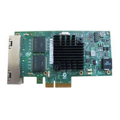 Intel I350 QP - Nätverksadapter - PCIe - Gigabit Ethernet x 4 - för PowerEdge R320, R630, R720xd, R730, R730xd, T420, T630