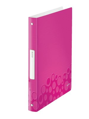 Ringbinder WOW PP 4RR/25mm pink