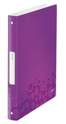 Ringbinder WOW PP 4RR/25mm purple