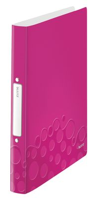 Ringbinder WOW PP 2RR/25mm pink
