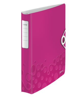 Ringbinder WOW PP 4DR/30mm pink