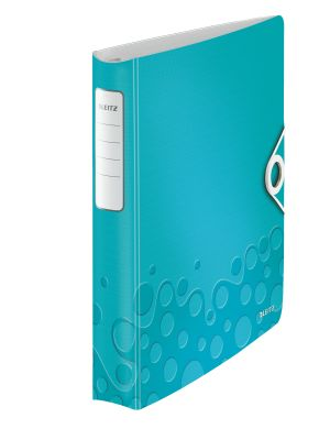 Ringbinder WOW PP 4DR/30mm iceblue