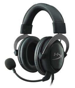 KINGSTON HYPERX CLOUD II PRO GAMING HEADSET GUN METAL IN (KHX-HSCP-GM)