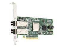 DELL Emulex LightPulse LPE12002 - Värdbussadapter - PCI Express 2.0 låg - 8Gb Fibre Channel x 2 - för PowerEdge R630, R730, R730xd