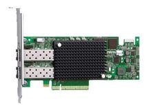 DELL Emulex LightPulse LPe16002B - Värdbussadapter - PCI Express 2.0 x8 låg - 16Gb Fibre Channel x 2 - för PowerEdge R520, R620, R630, R715, R720, R720xd, R730, R730xd, R815, R820, R910
