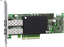 DELL Emulex LPE-16002 - Värdbussadapter - PCI Express 2.0 x8 låg - 16Gb Fibre Channel x 2