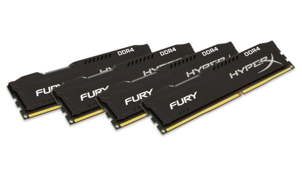 32GB DDR4-2400MHZ CL15 DIMM (KIT OF 4)FURY BLACK SERIES