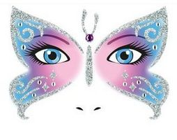HERMA Face Art Decor Butterfly (15308*5)