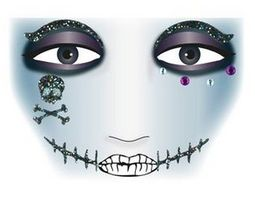 Face Art Decor Pirat