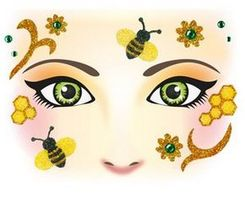 Face Art Decor Honey Bee