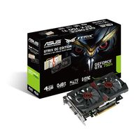 GeForce GTX 750Ti 4GB DDR5 D-Sub/ DVI/ HDMI Fan STRIX