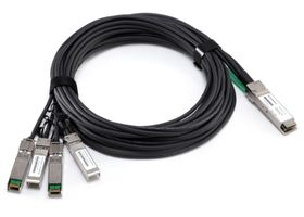 Hewlett Packard Enterprise BladeSystem c-Class QSFP+ to 4x10G SFP+ 7m Active Optical Cable (721070-B21)