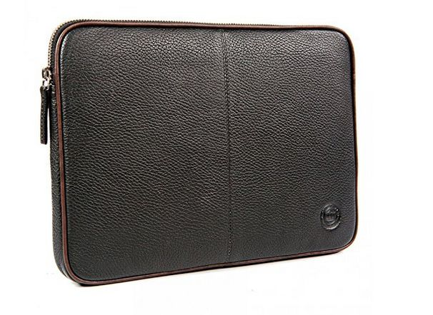 Leather case 16in black