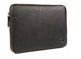 DBRAMANTE1928 Leather case for up to 16'' Laptops & Notebooks - GT Black