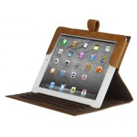 LEATHER CLASSIC (FOLIO CASE FOR IPAD GOLDEN TAN)