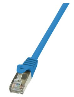 CAT5e SF/UTP Patchkabel AWG26 blau 5,00m