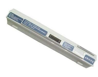 Acer Batteri til bærbar PC - 1 x litiumion 6-cellers 5200 mAh - hvit - for Aspire ONE 751, 751H, 751h -52 (BT.00603.083)