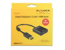 DELOCK Displayport Adapter DP -> HDMI 4K Aktiv