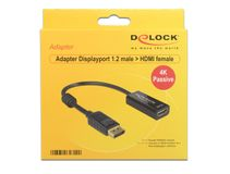 DELOCK Displayport Adapter DP -> HDMI 4K Passiv