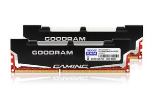 GOODRAM RAM DDR3 16GB / 1866MHz LEDLight [2x8GB ] CL10 rt (GL1866D364L10/16GDC)