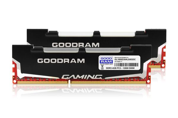 DDR3 LED 8GB PC1600 CL9 2x4GB KIT retail