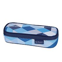 Soft Case be.bag cube Blue checked