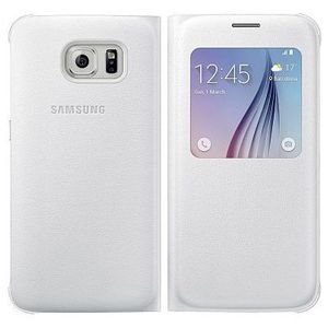 EF-CG920PWEGWW S-View Cover for Galaxy S6 PU white