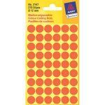 AVERY Colour Coding Dot Red ?12 mm, Permanent adhesive 270 labels/ pack (3147)