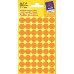 AVERY Colour Coding Dot Orange ?12 mm, Permanent adhesive 270 labels/ pack (3148)