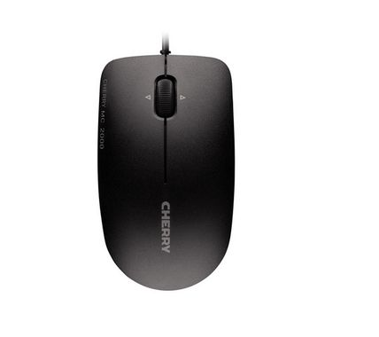 CHERRY MC 2000 USB CORDED MOUSE BLACK           IN PERP