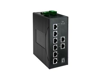 8 GE MANAGED SWITCH -20 TO 60C, DIN-RAIL             IN CPNT
