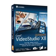 VIDEOSTUDIO ULTIMATE X8 MINI-BOX DE/ EN/ FR/ IT/ NL          IN DVD
