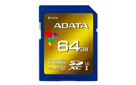 A-DATA XPG SDXC UHS-I U3 64GB (Video Full HD) Retail (ASDX64GXUI3CL10-R)
