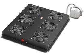 ROOFCOOLING UNIT FOR DIGITUS 6 FANS, BLACK RACK