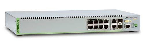 Allied Telesis 8 Port PoE+ Managed Compact Fast Ethernet Switch. Single AC Power Supply (AT-FS970M/8PS-50)