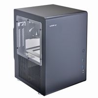 PC-Q33WB Mini-ITX Cube - schwarz Window