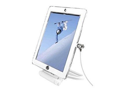 iPad Air Sec Case Clear White Bracket