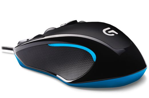 G300S Gaming mouse,  black/ grey