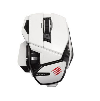 R.A.T.M WL WHITE MOBILE MOUSE