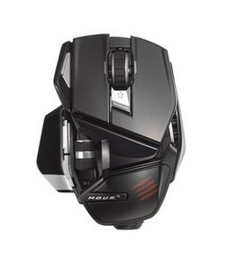 MAD CATZ R.A.T.M WL GLOSS BLACK MOBILE MOUSE (MCB4371700C2/04/1)